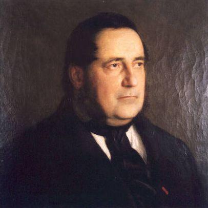 Székely Portrait of Adalbert Stifter 1863