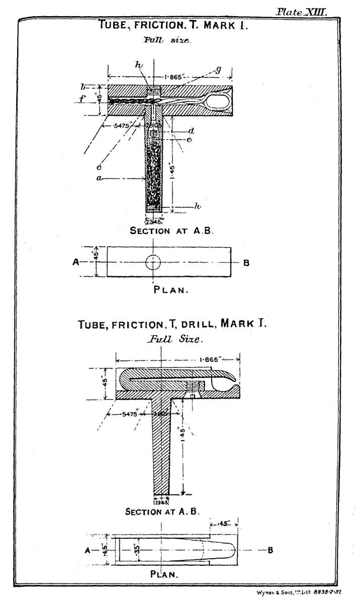 File T Friction Tube Mk I For Bl 5 4 Inch Howitzer