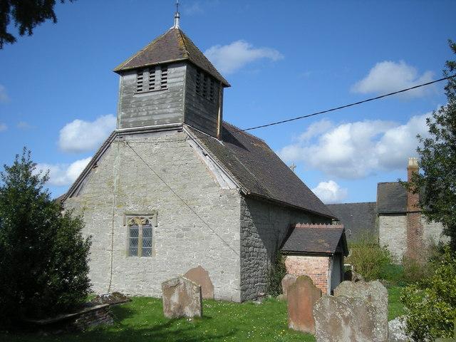 St Mary's parish church, Acton Round