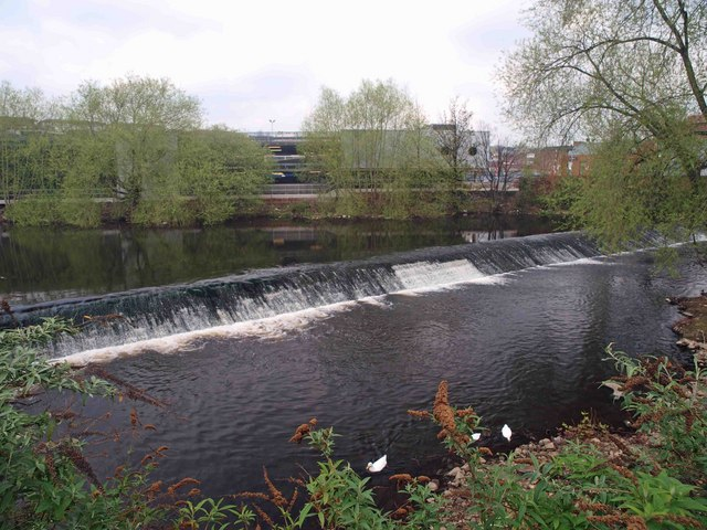 The last of Sheffield's five weirs walk (or the first if you are starting here) - geograph.org.uk - 1251399