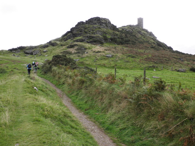 The path to Brent Tor - geograph.org.uk - 1474891