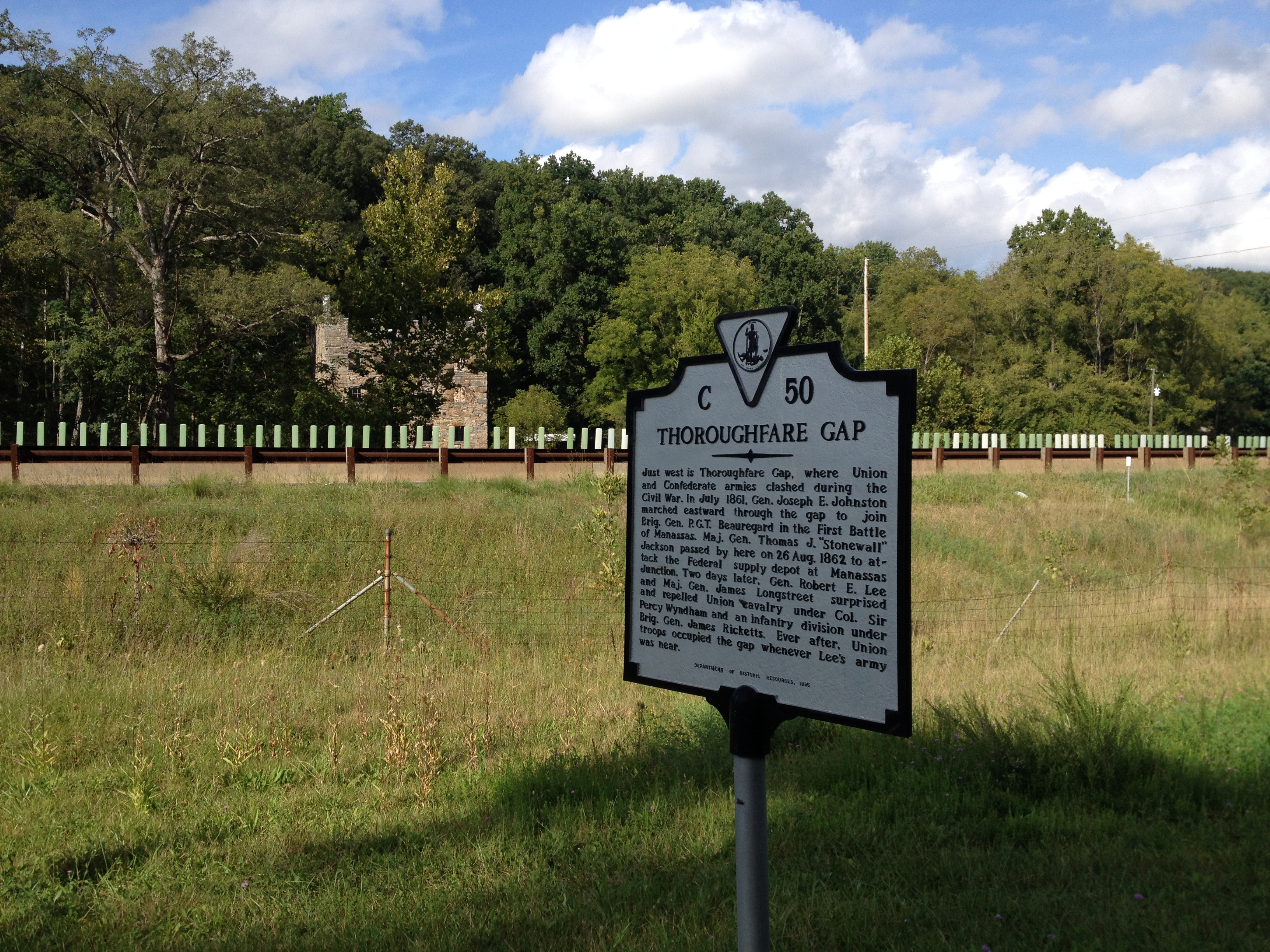 Thoroughfare Gap Battlefield - Wikipedia