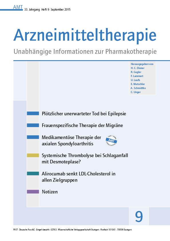 Arzneimitteltherapie – Wikipedia
