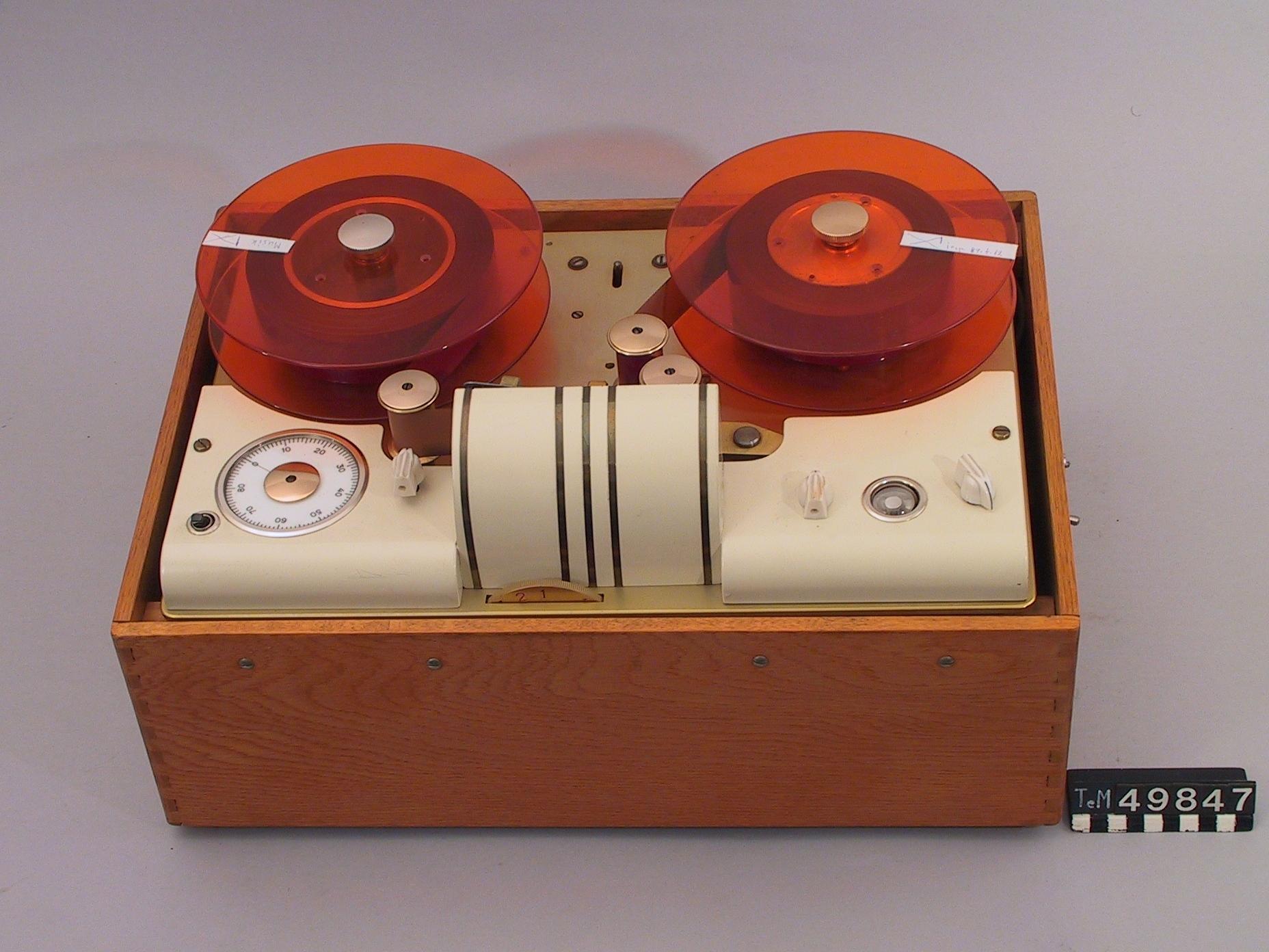 recording device tape recording