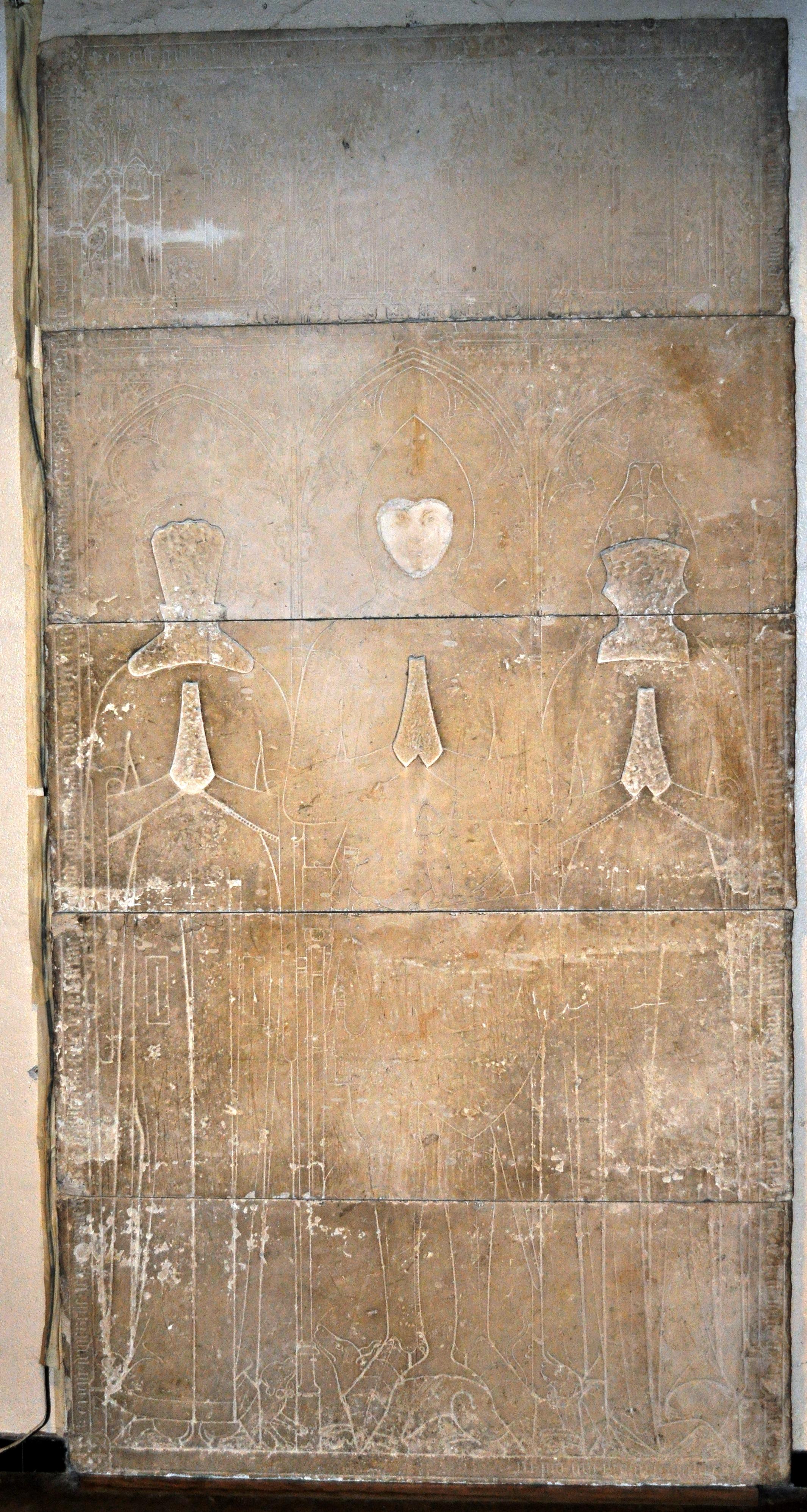 ギヨーム・ティレルの墓碑(写真)