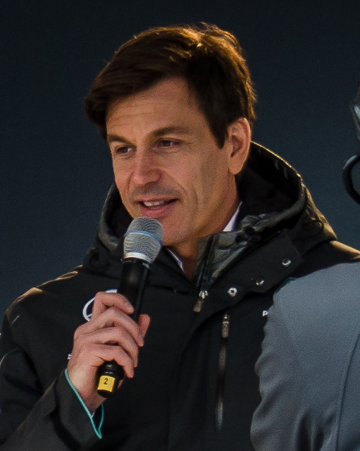 The 46-year old son of father (?) and mother(?) Toto Wolff in 2018 photo. Toto Wolff earned a  million dollar salary - leaving the net worth at 2 million in 2018