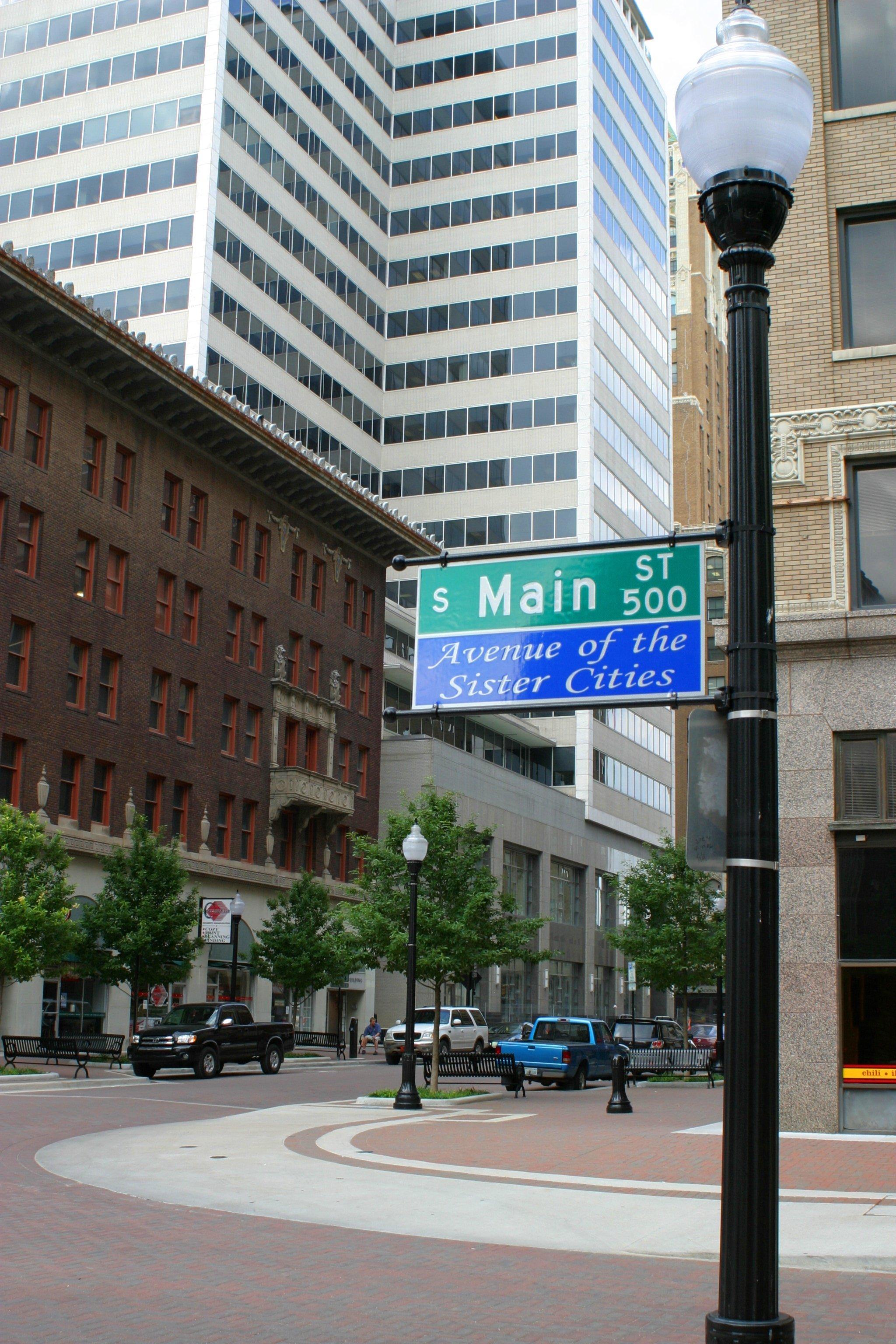 File Tulsa Oklahoma Sister Cities Sign Jpg