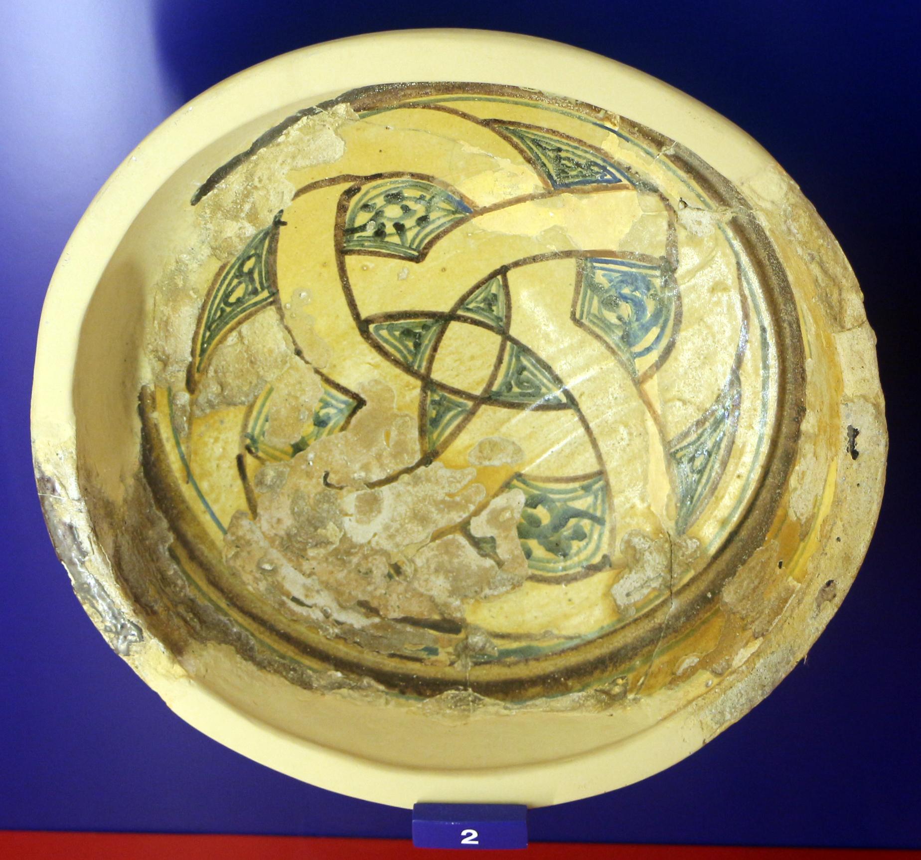 File tunisia ceramica con decorazione a cobalto e for Decorazione wikipedia