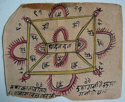 File:Two-sided yantra cards, conveniently portable 01.jpg