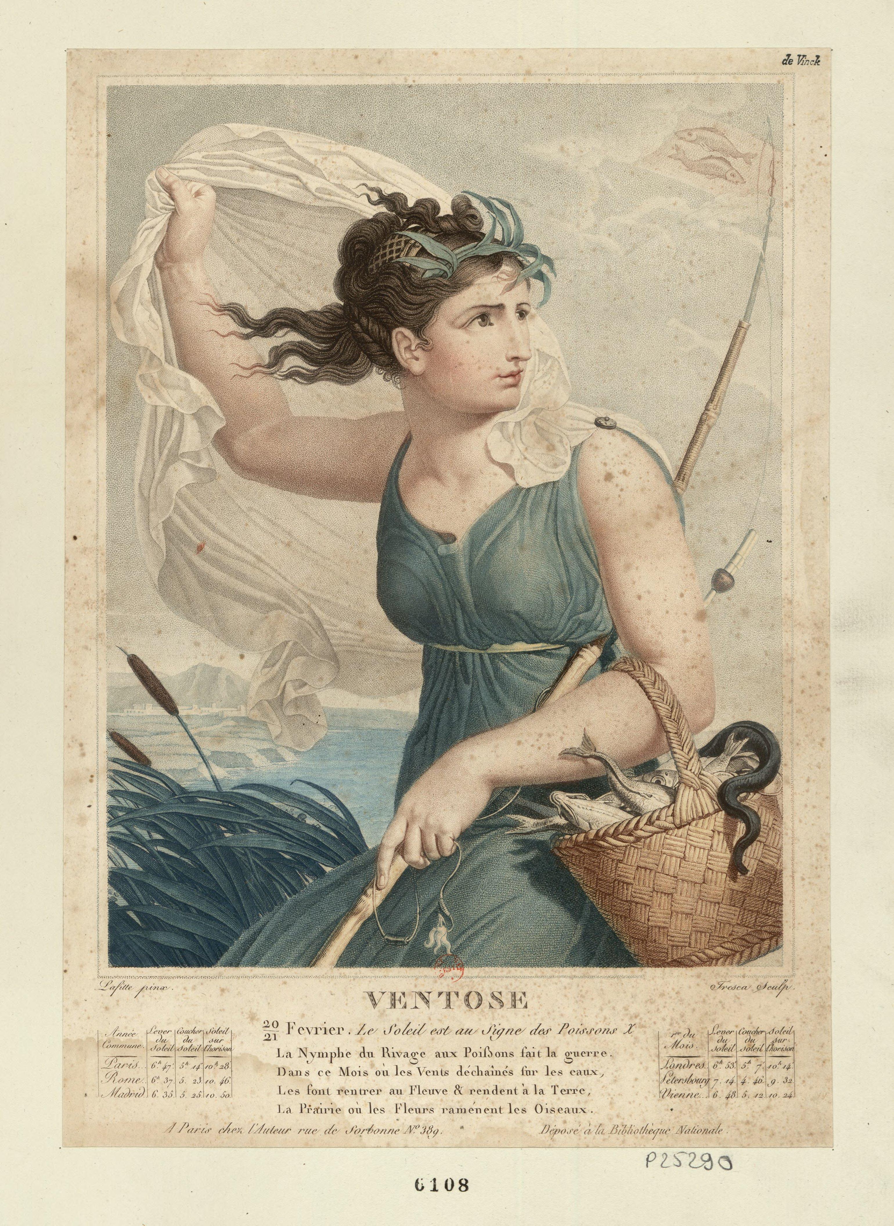 Le Calendrier Revolutionnaire.Ventose Wikipedia