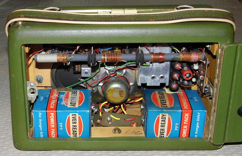 Transistor vintage radio barbie