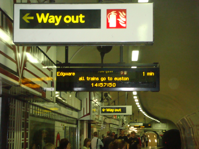 Way Out! Leicester Square Tube Station
