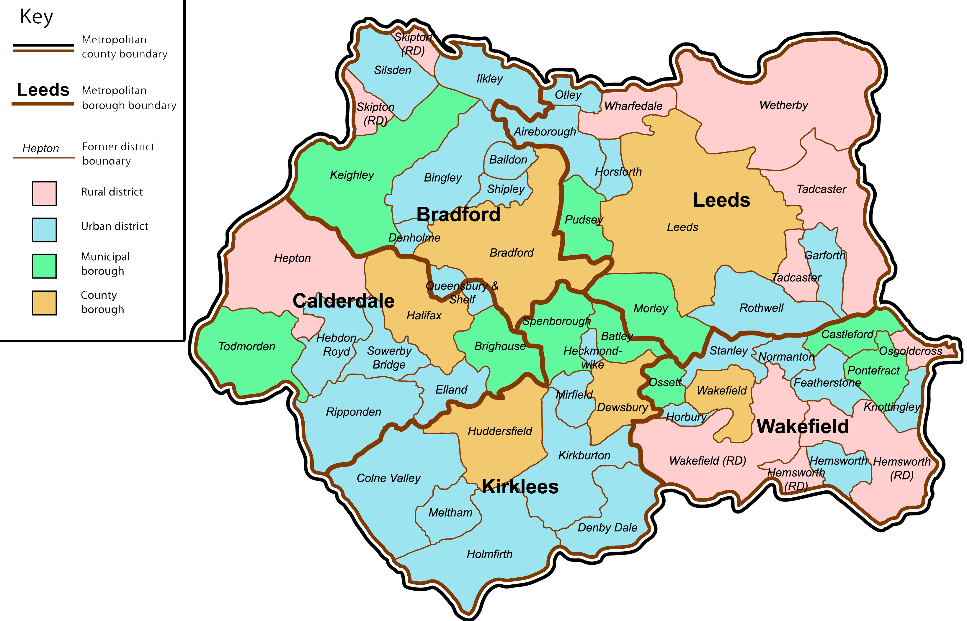 West Yorkshire Wikiwand