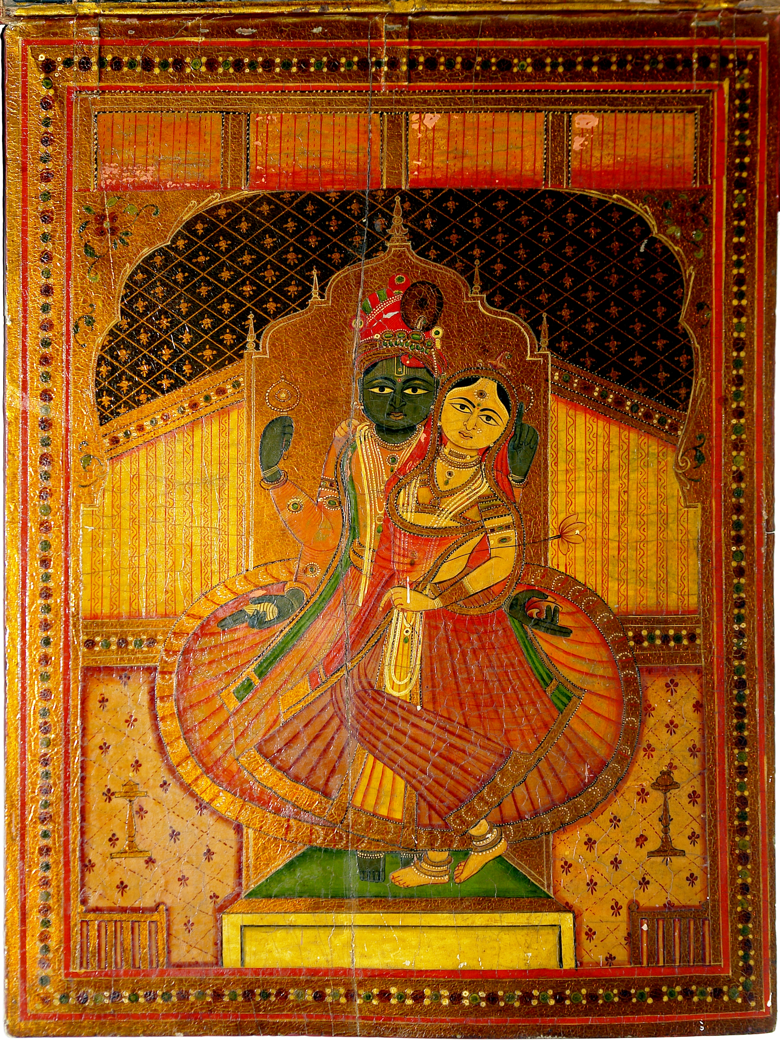 File Wood Painting Crafts Museum New Delhi India Jpg