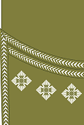 World War I British Army captain's rank insignia (sleeve, Scottish pattern)