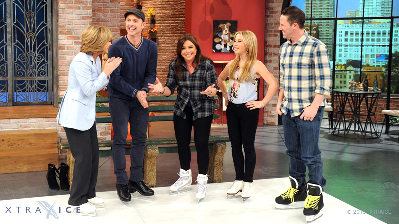 Xtraice featured on the American TV Show, 'The Rachael Ray Show' (12924853333).jpg