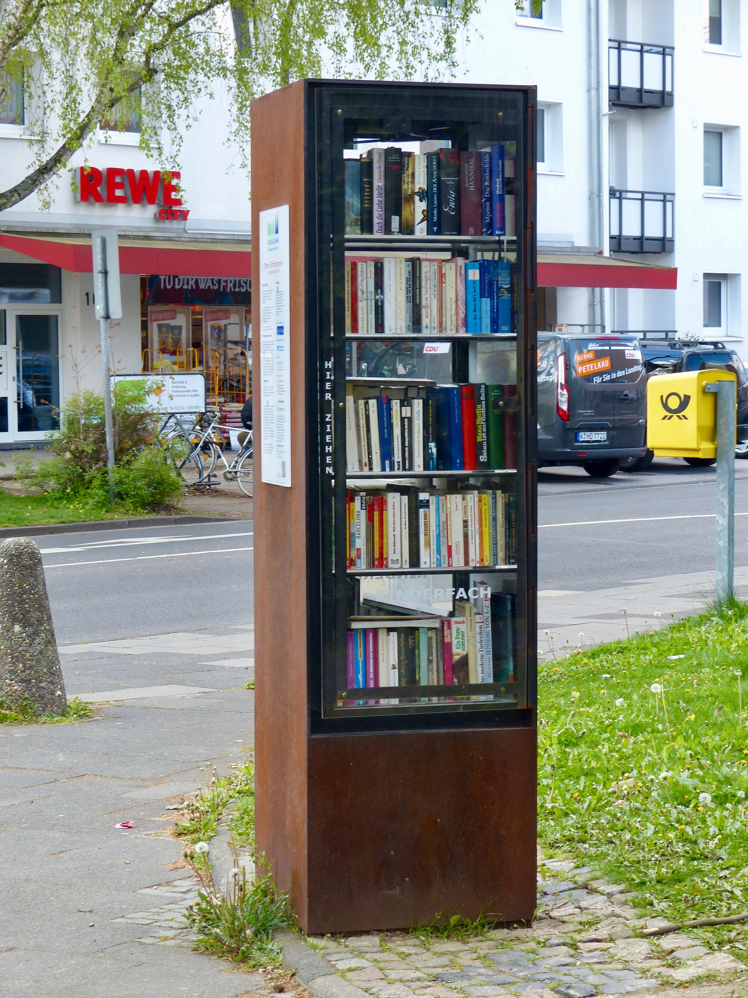 File:Öffentlicher Bücherschrank Köln Junkerdorf.jpg - Wikimedia ...