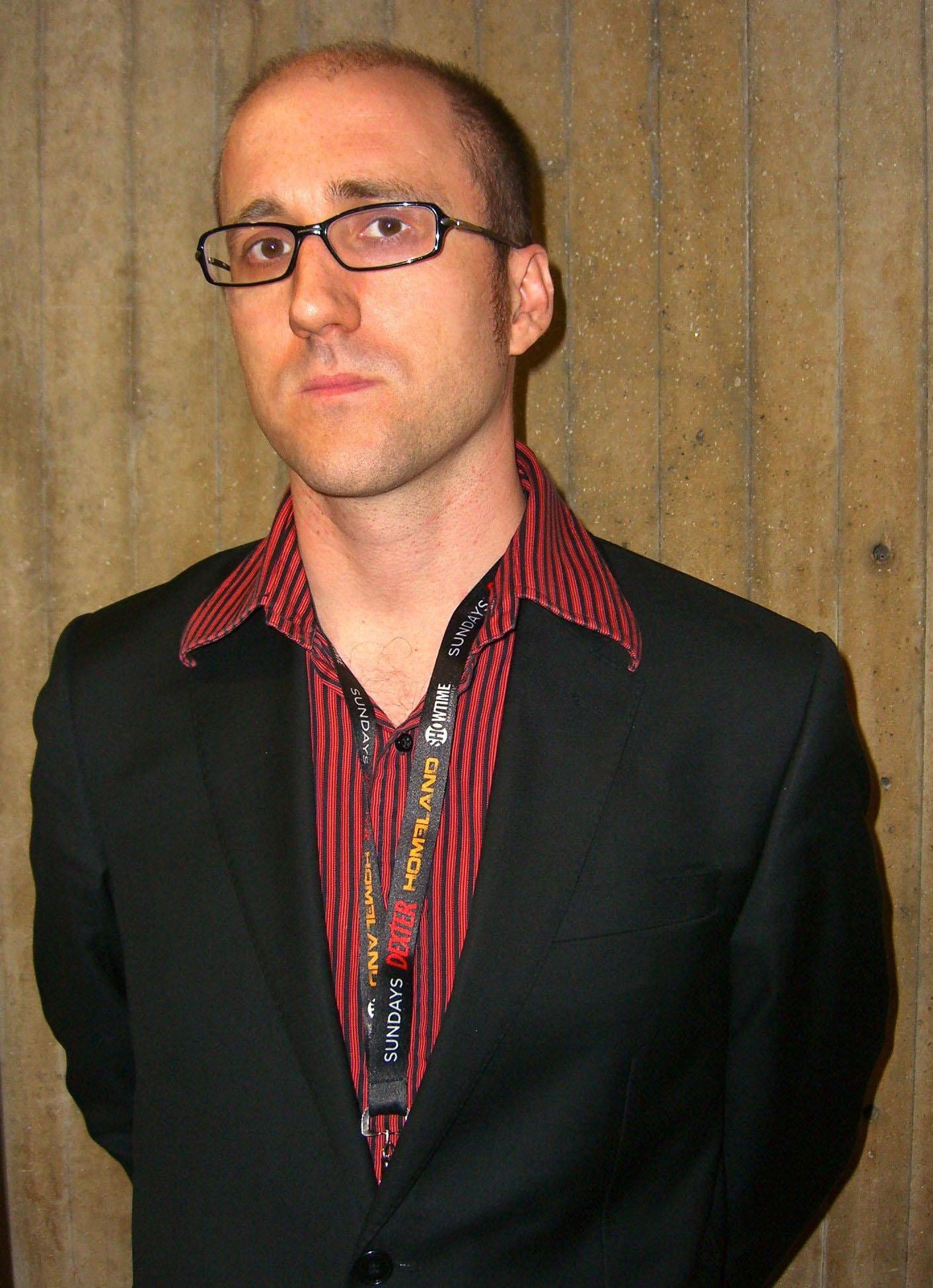 Gillen at the 2011 [[New York Comic Con]]
