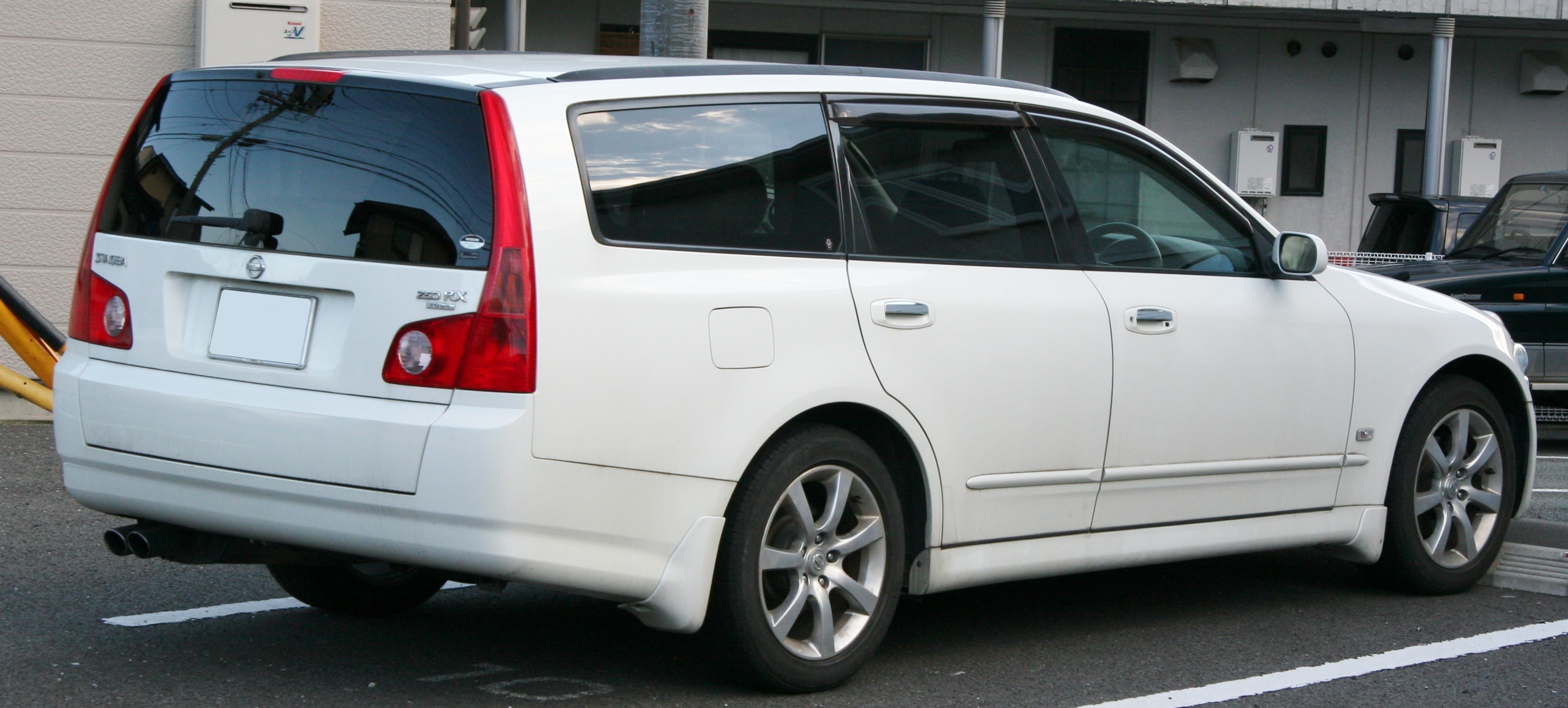 File 2004 2007 Nissan Stagea 250rx Four Rear Jpg