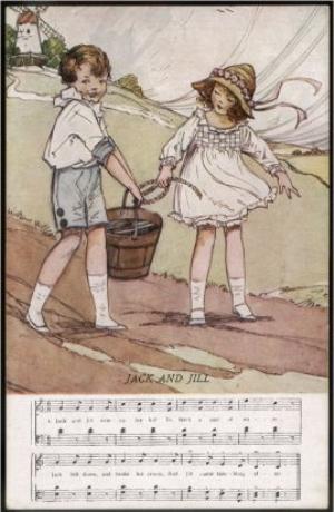 English: Jack and Jill by Dorothy M. Wheeler