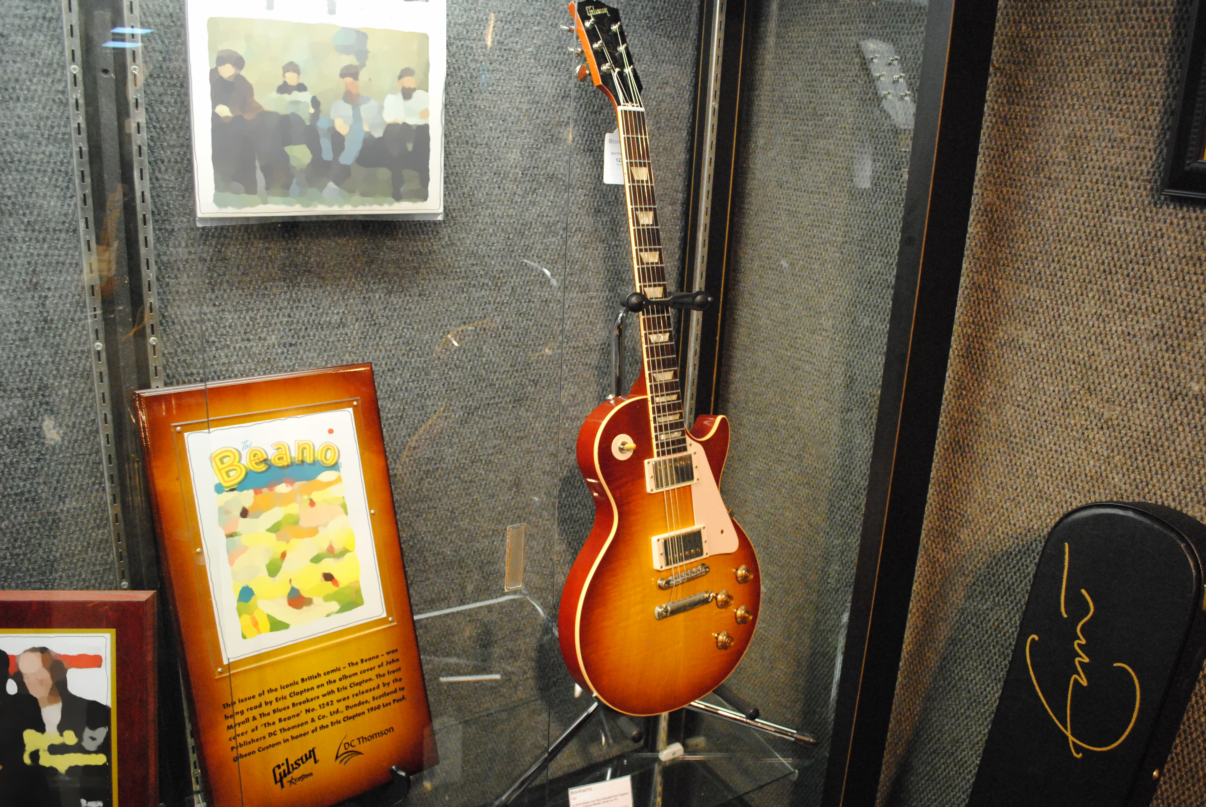 File 2010 Gibson Les Paul Standard Eric Clapton Beano Tribute Model Serial No 01 Lot 122