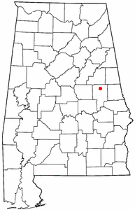 Loko di New Site, Alabama