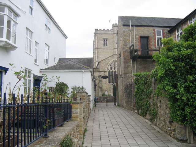 A backstreet in Axminster - geograph.org.uk - 435339