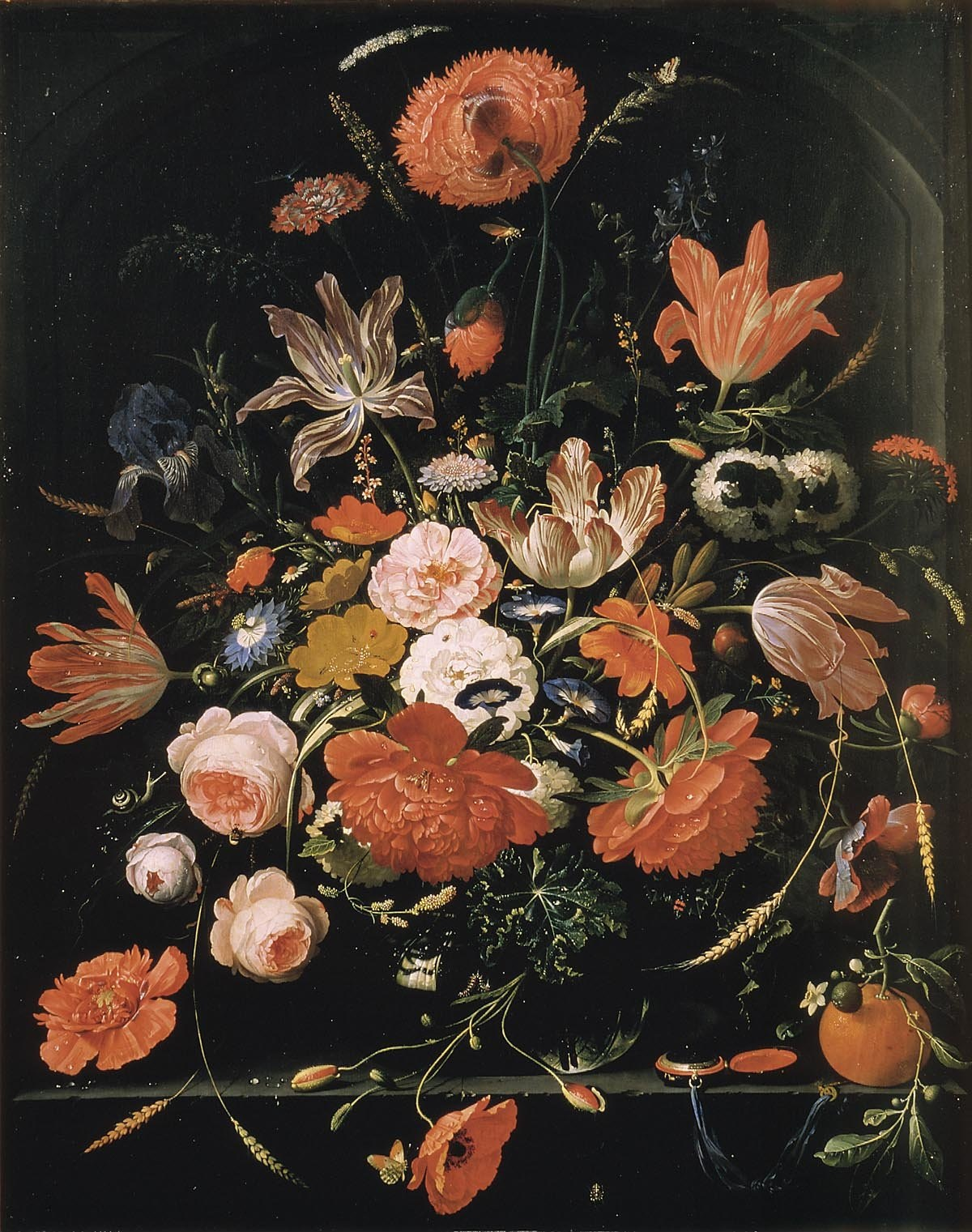 File abraham mignon wikimedia commons for Bouquet de fleurs wiki