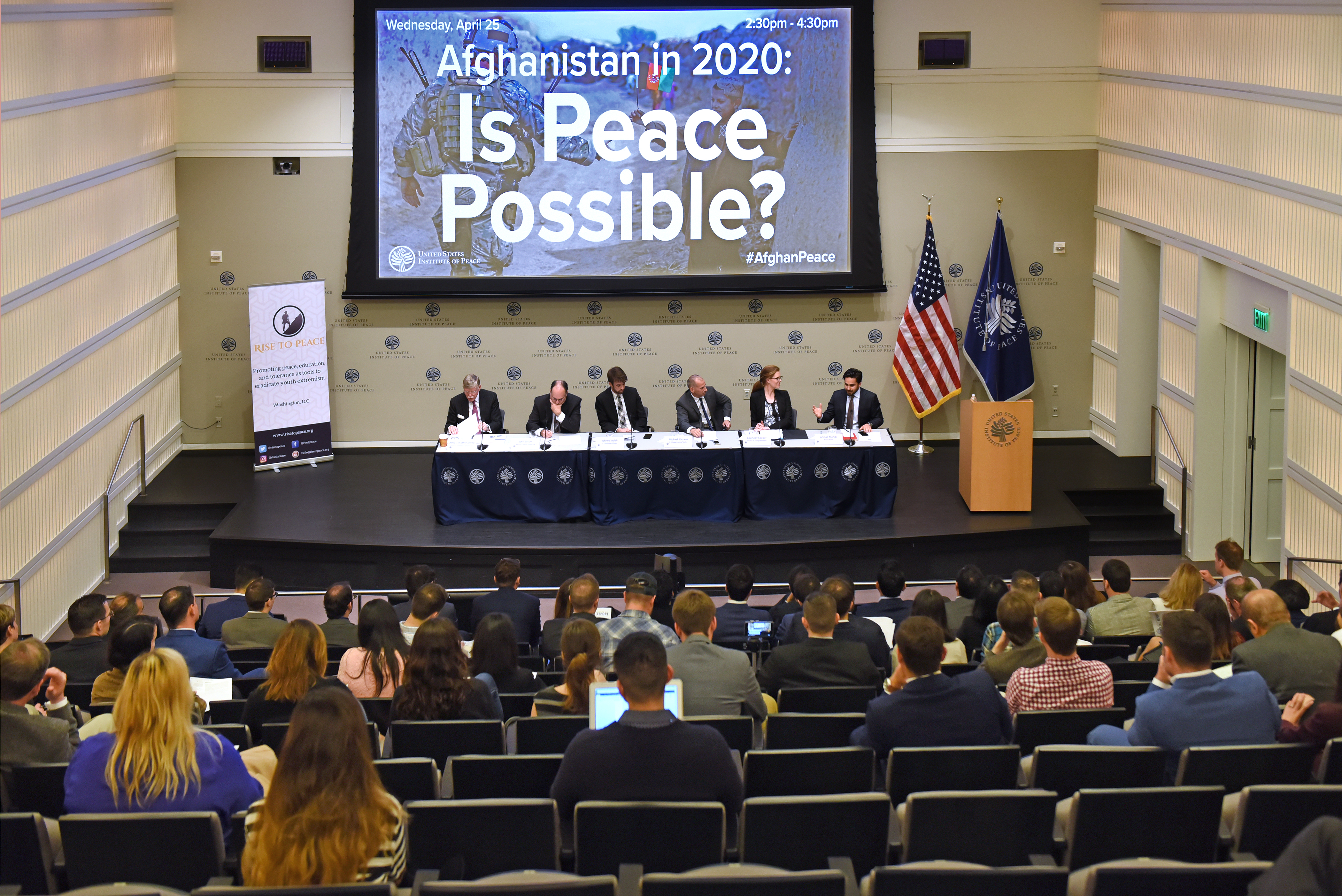 US Institute of Peace conference on Afghanistan Peace prospects, CC BY 2.0