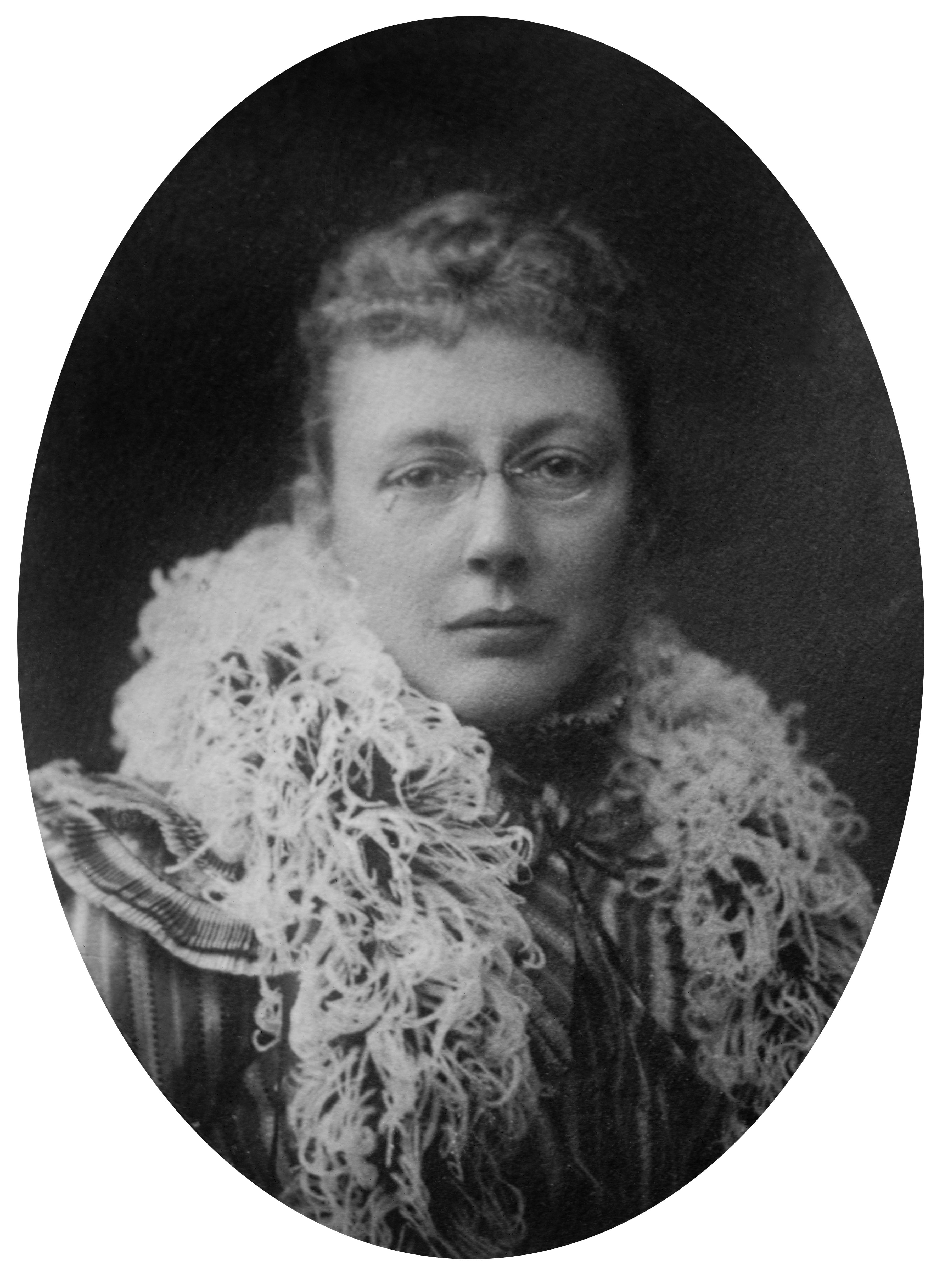 Portrait of Agnes Repplier