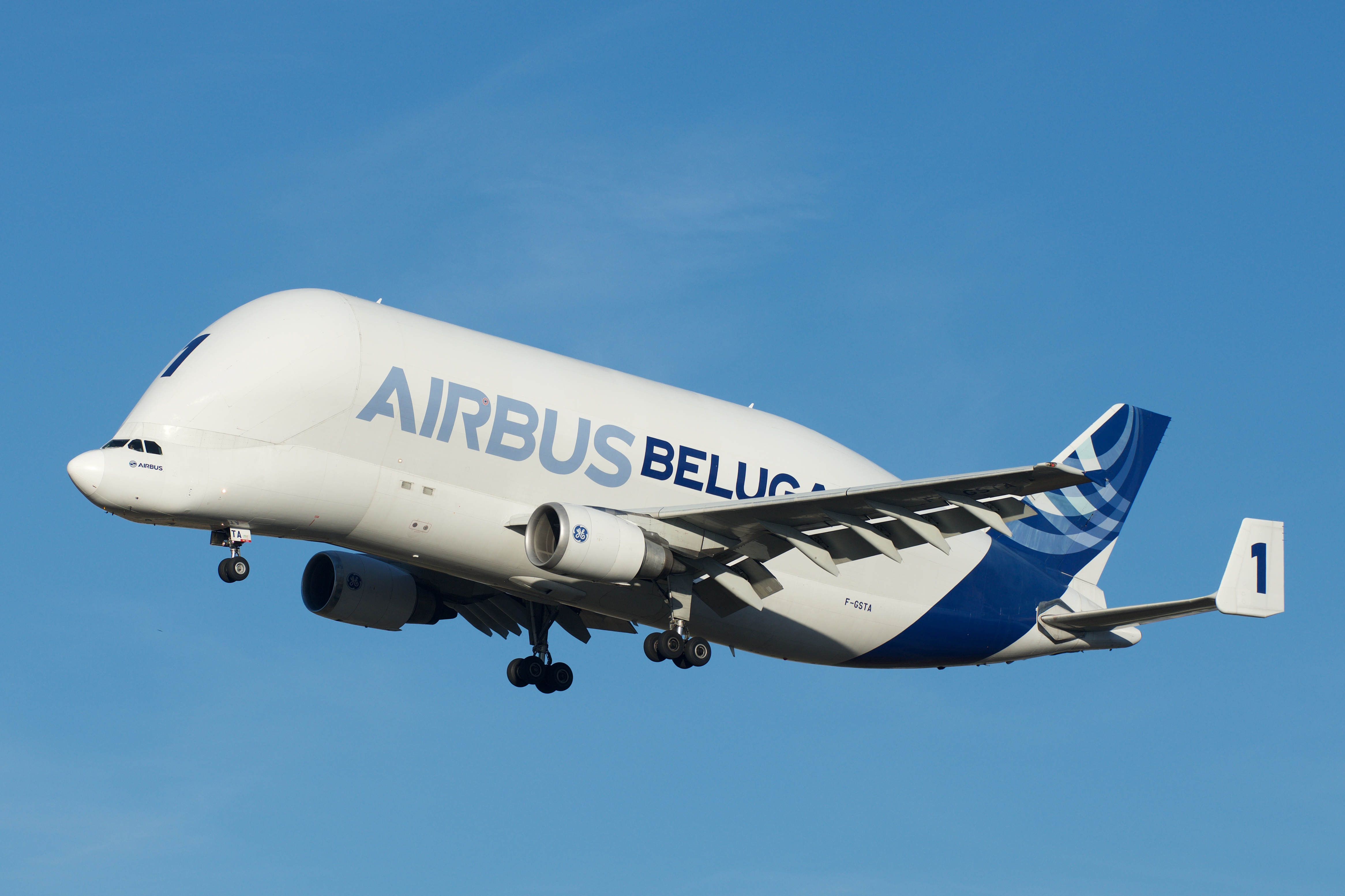 Depiction of Airbus A300-600ST Beluga