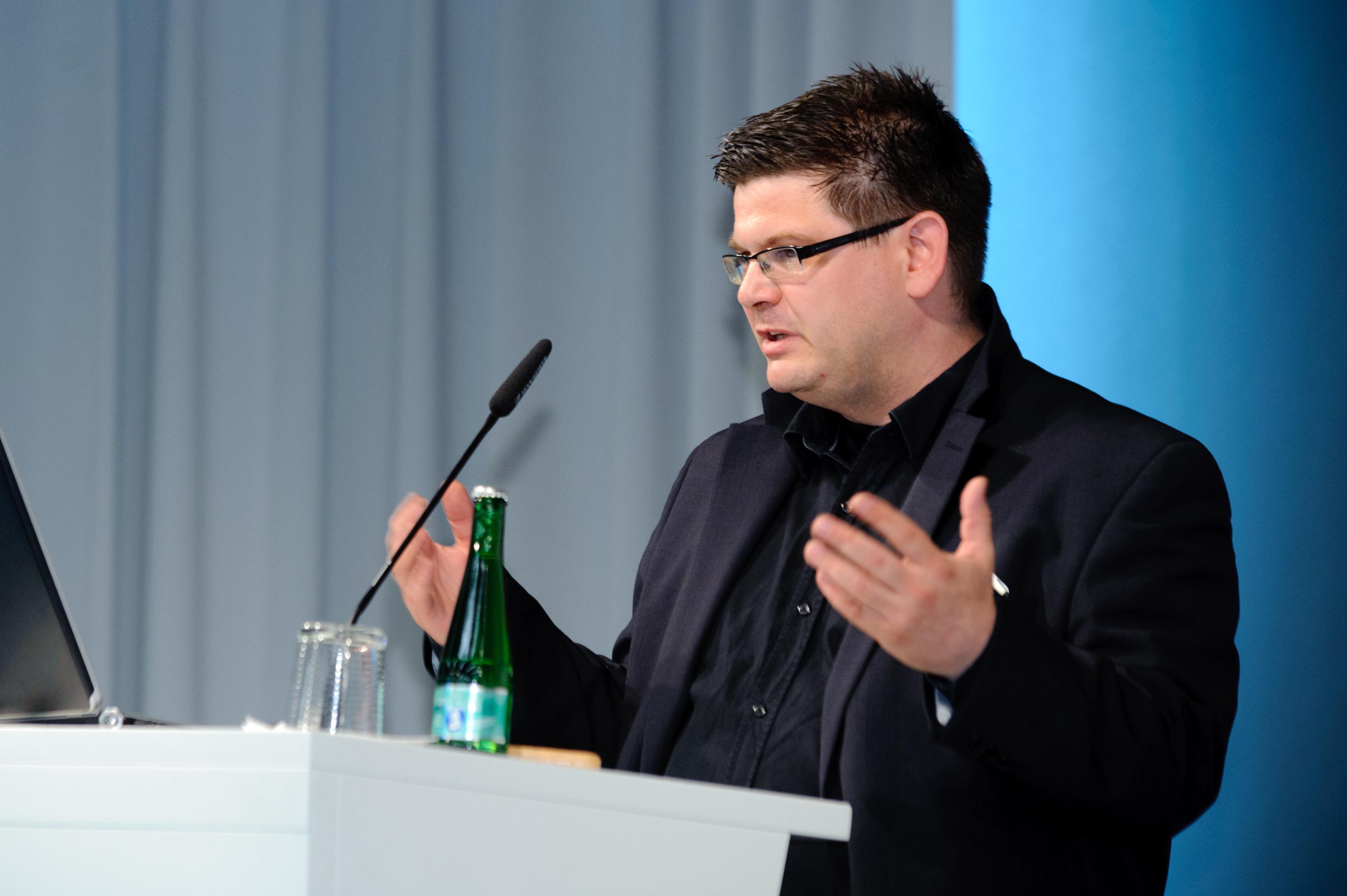 Andrej Holm. Foto: Heinrich-Böll-Stiftung - Flickr, CC BY-SA 2.0