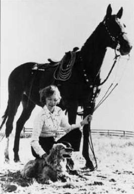 """Velma Johnston, """"Wild Horse Annie"""