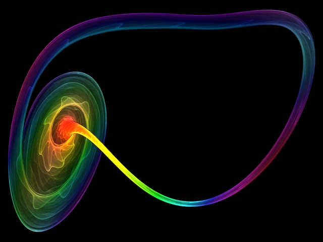 Attractor Chaotic Flow - Rendering Plasma - Chaoscope.jpg