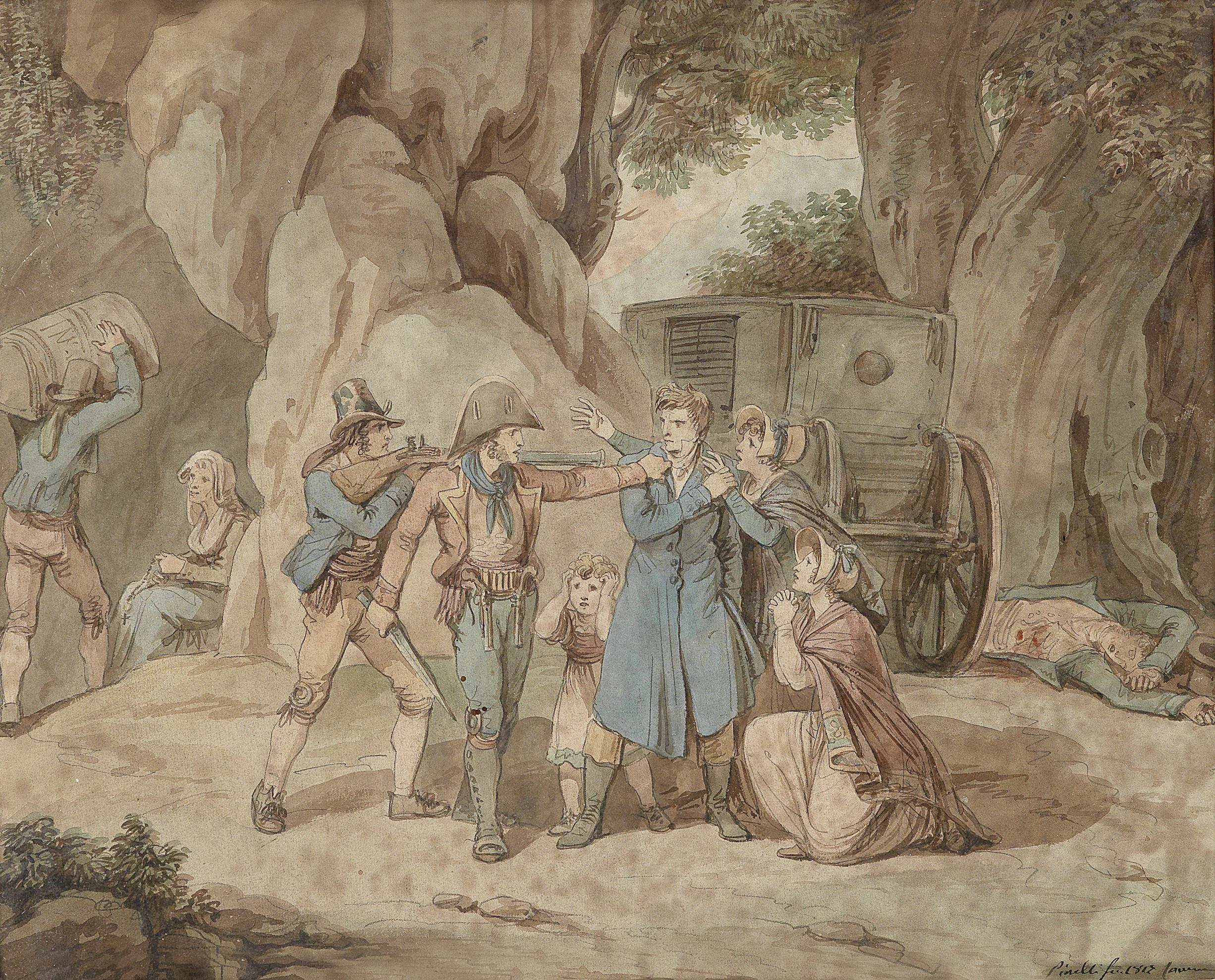 Bartolomeo Pinelli Überfall 1817.jpg
