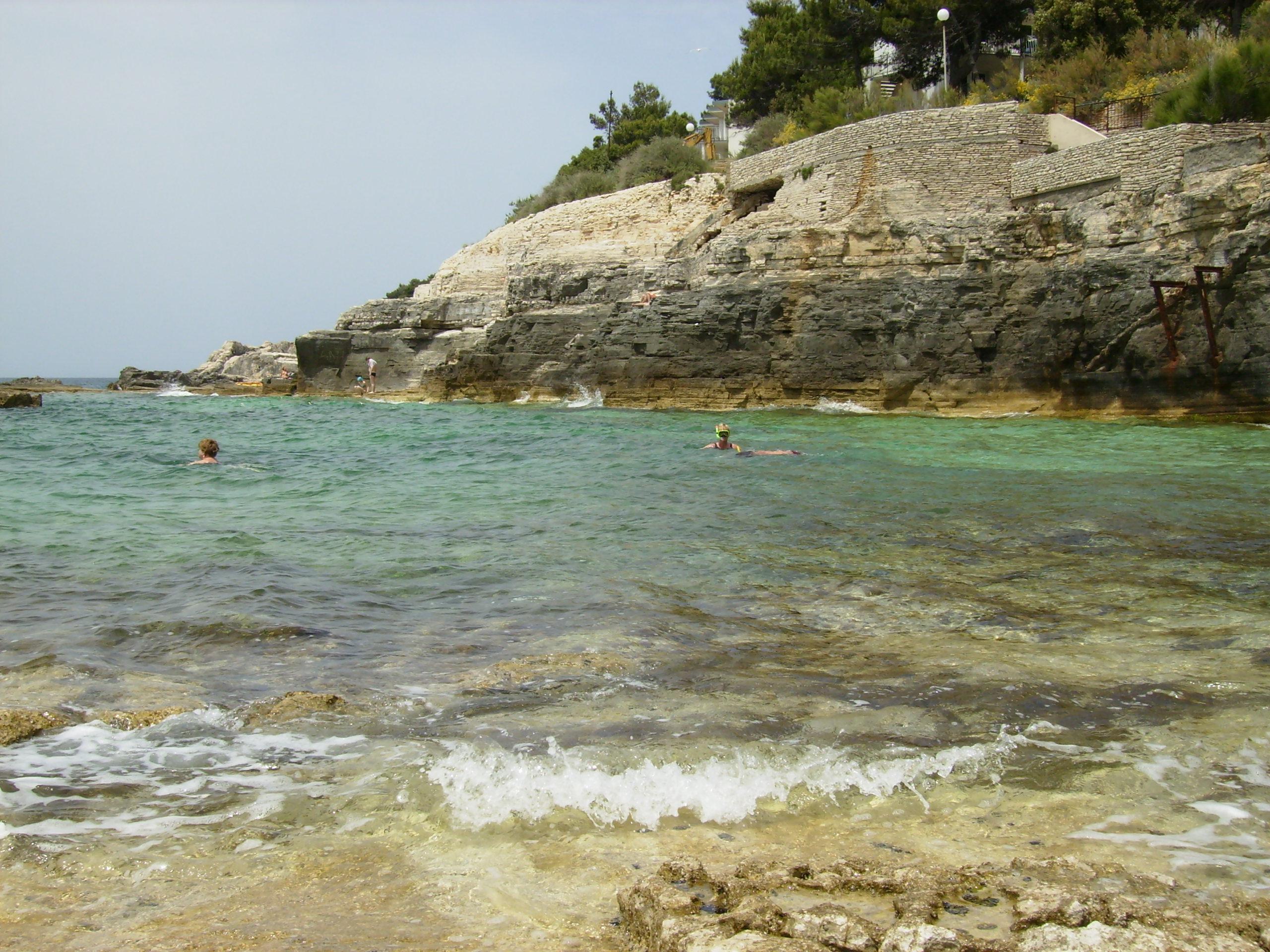 Pula Croatia Beach File:beach in Pula Croatia