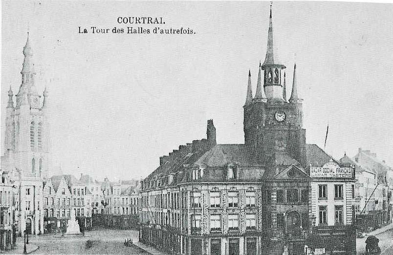 Belfry of kortrijk for Courtrai belgium