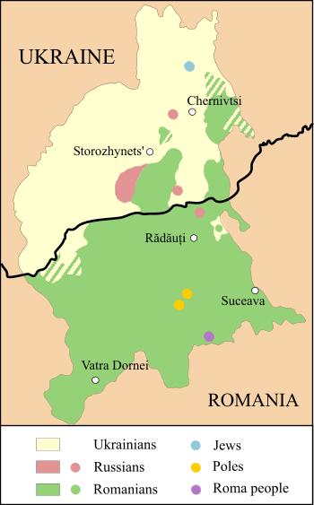 Depiction of Bucovina