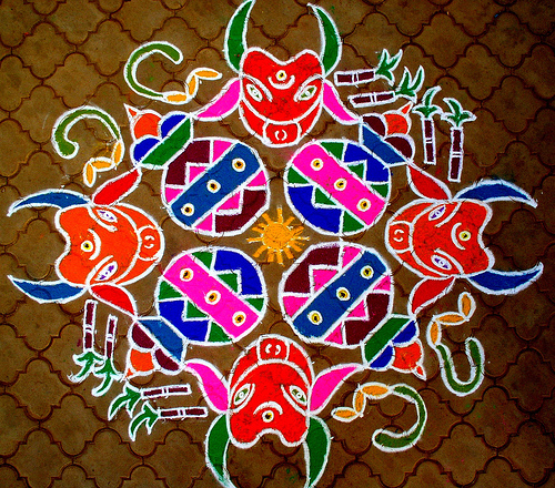 Beautiful Rangoli Designs For New Year