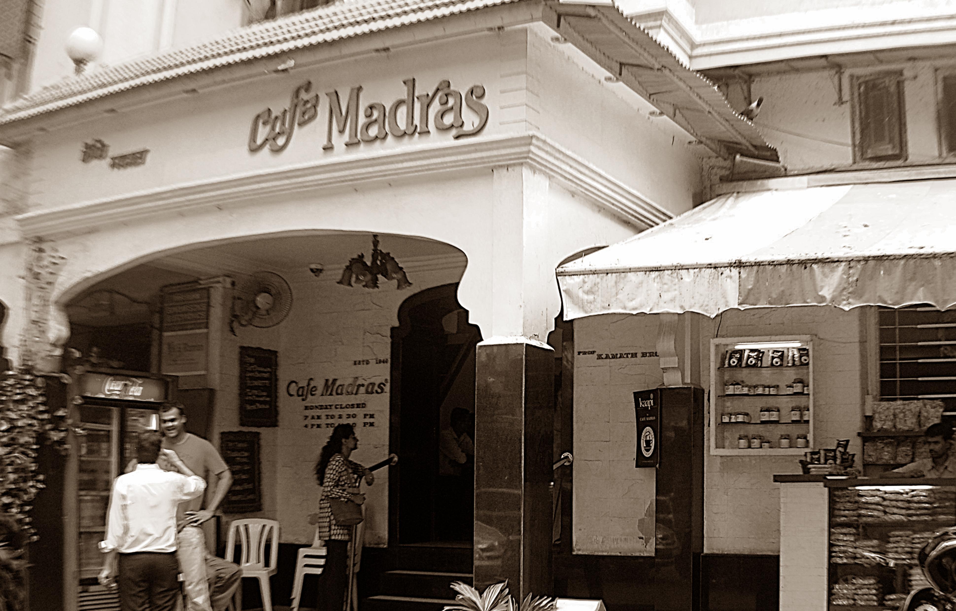 Madras Cafe Matunga Opening Hours