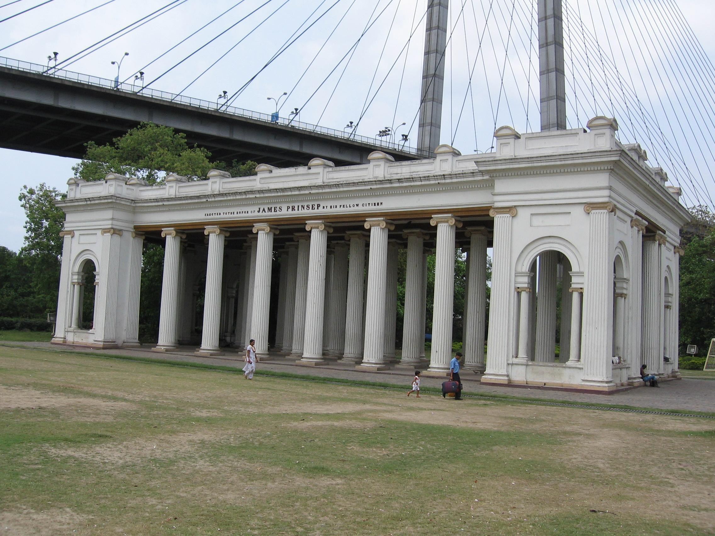 Prinsep Ghat at Kolkata.