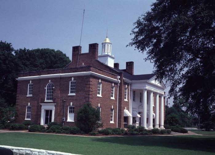 Calhoun County Georgia Courthouse