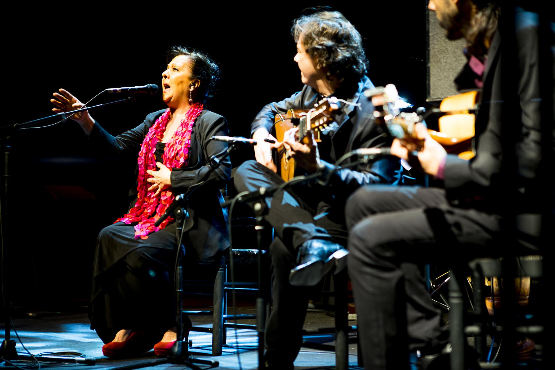 Carmen Linares en concreto en Teatro Circo Price de Madrid (2017)
