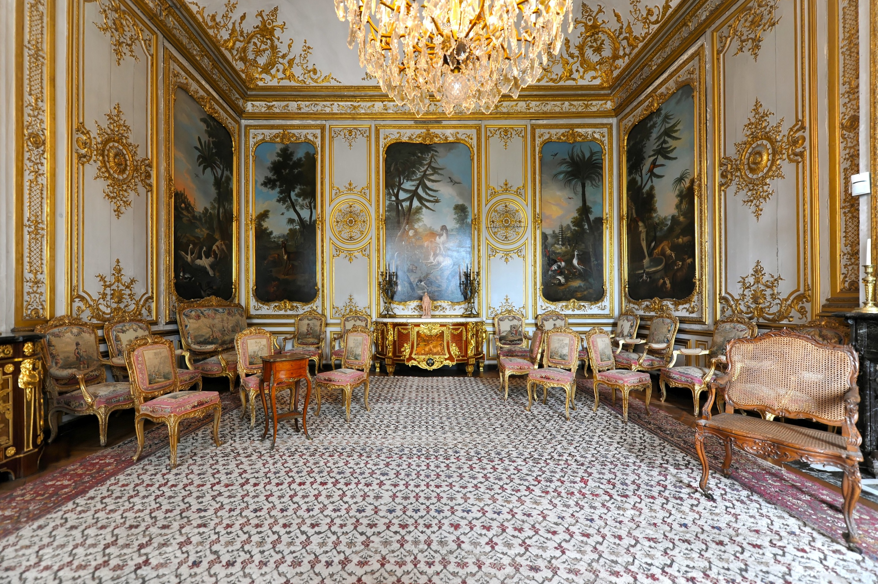 Archivo Chateau De Chantilly  La Chambre De Monsieur Le