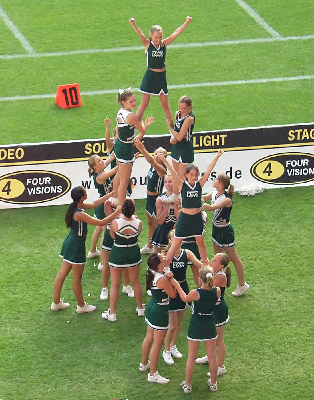 Cheer In Games Room