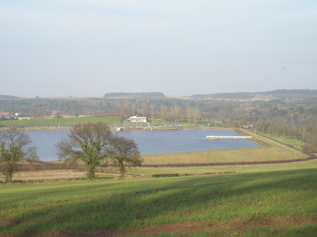 Chelmarsh Reservoir and Sailing Club - geograph.org.uk - 682346