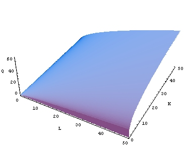 loading image for Cobb-Douglas production function