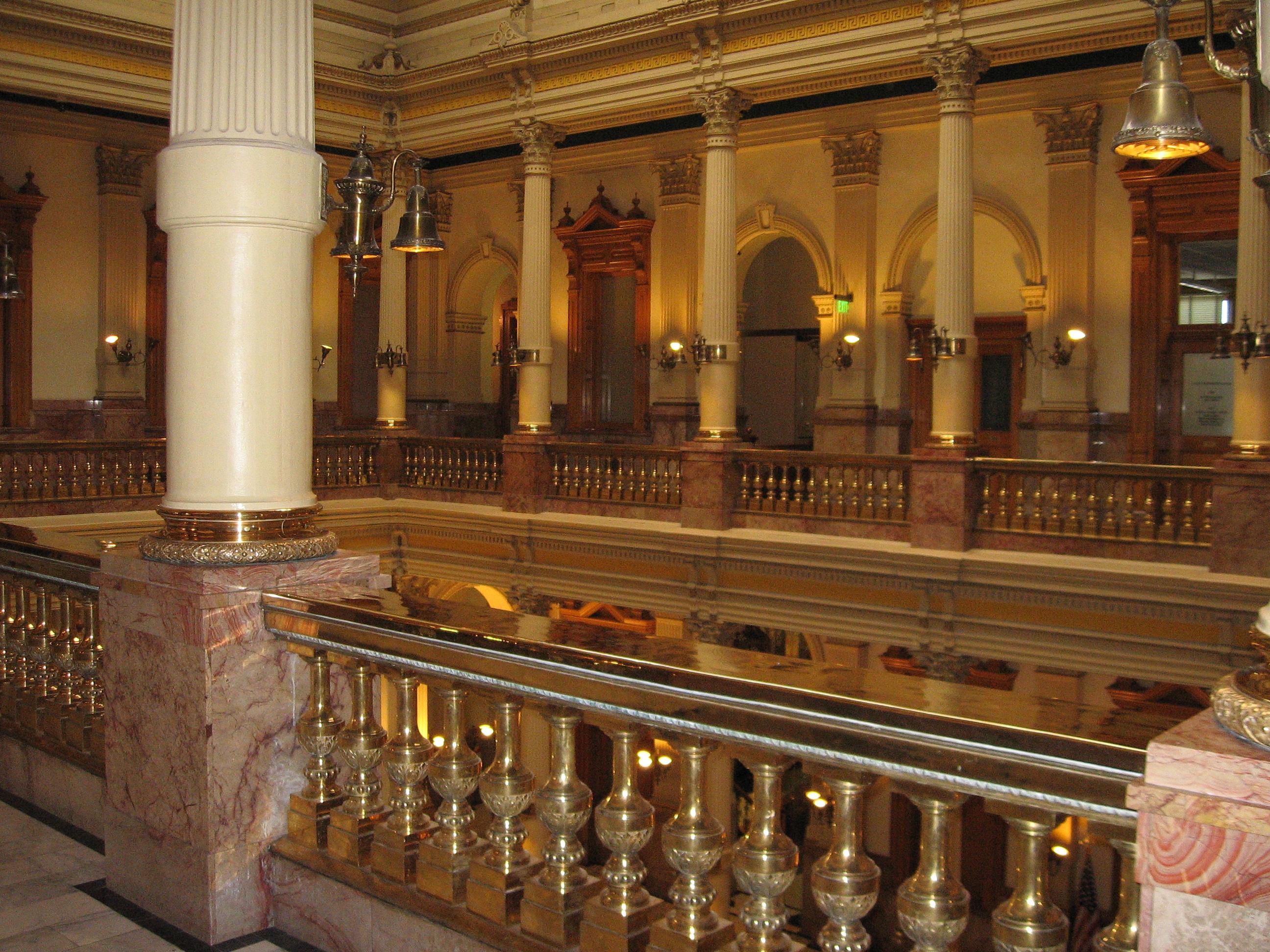 File:Colorado State Capitol Building Third Floor.JPG