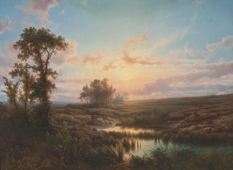 Flemish Oil Painting Painter