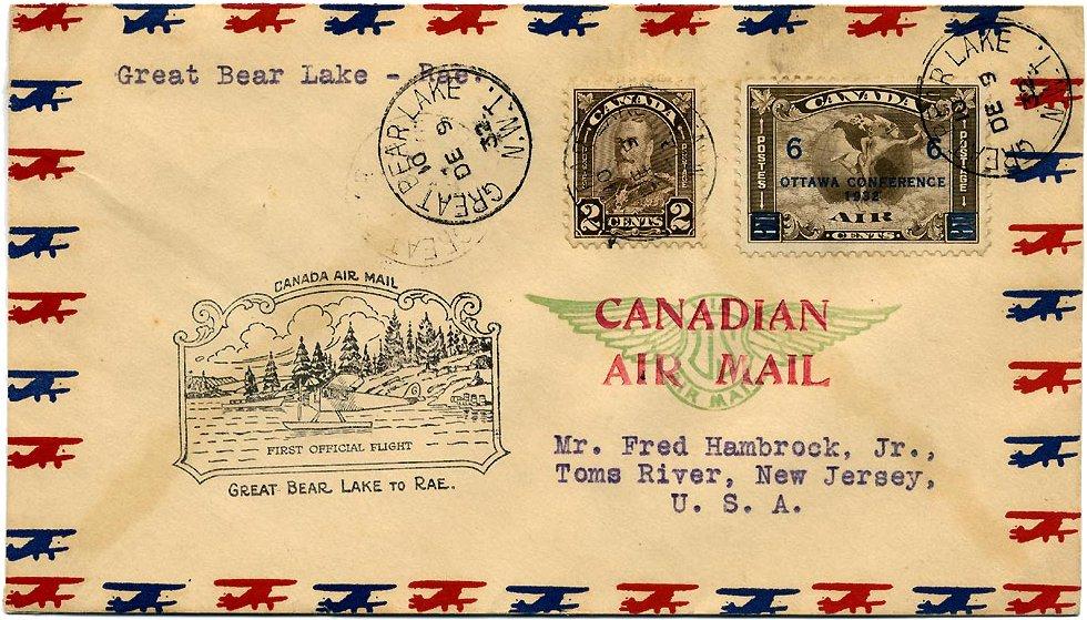 File Cover Canada 1932 Rae air Wikimedia mons